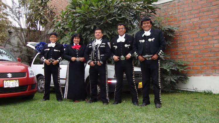 Mariachi Nuevo Jalisco de César Rivera - Telfs. 7317601 - 989993475