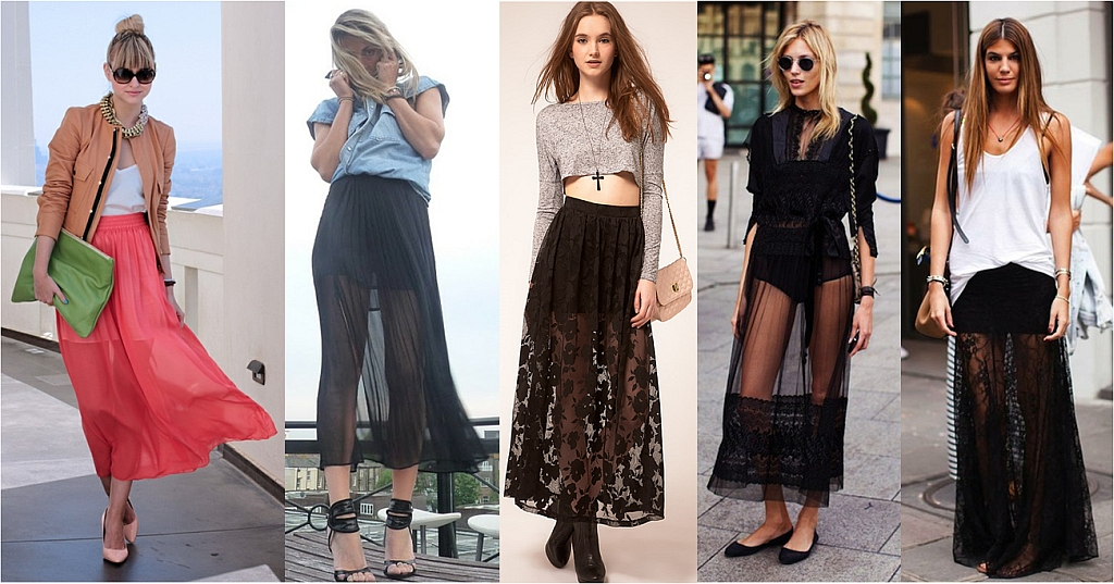 Lace Maxi Skirts