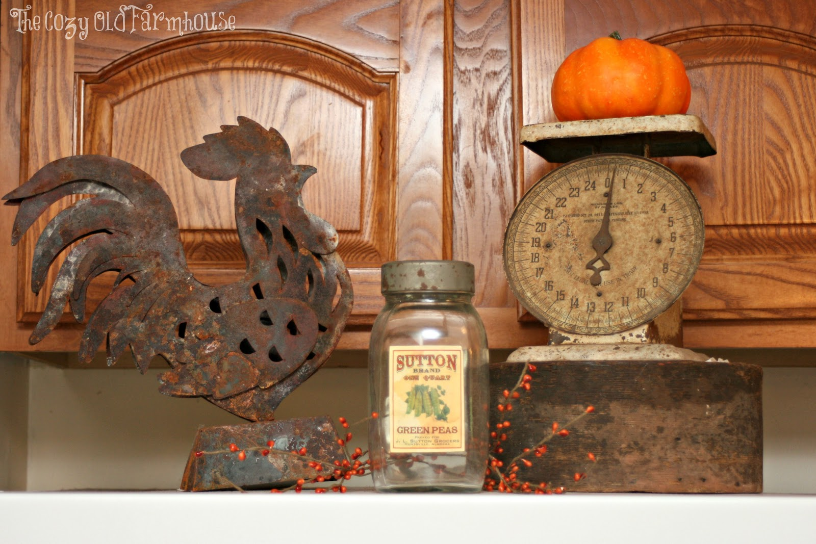"The Cozy Old ""Farmhouse"" Farmhouse Fall Decor Part 3"