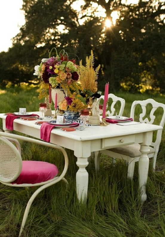 Inspire bohemia outdoor dining and parties iii