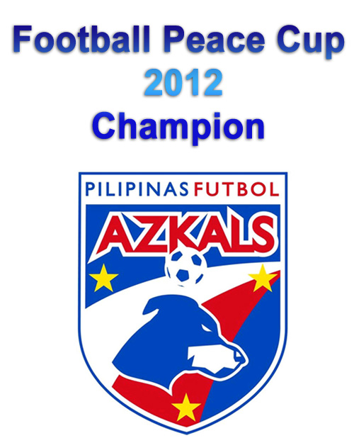 Philippine Azkals Champion in Peace Cup 2012
