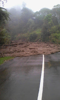 Banjir Lumpur di Mesilau Kundasang Sabah