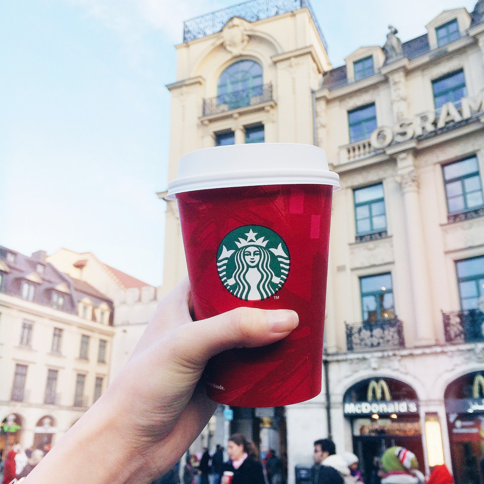 Munich starbucks, Germany, Coffee