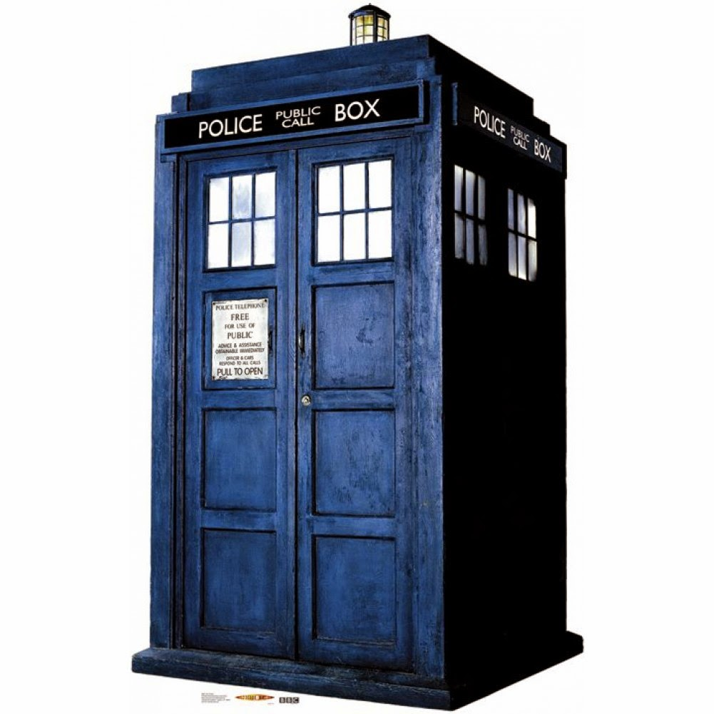 That You Could Totally Make A Pantry Cabinet Look Like The Doctoru0027s (Who,  That Is) TARDIS Time Machine!