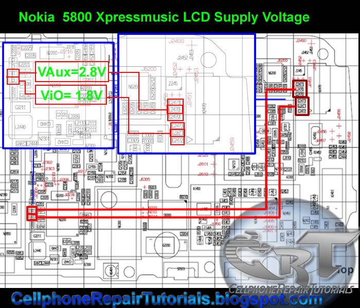 all gsm solution nokia all display and led, schematic