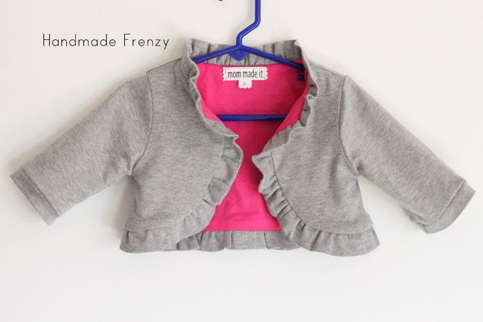 Sewing Patterns:Ruffle Bolero