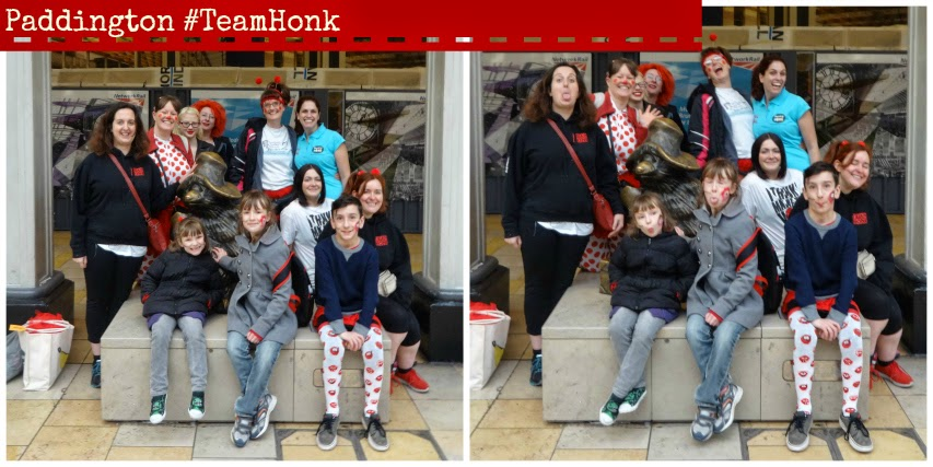 Paddington Team Honk Danceathon Comic Relief
