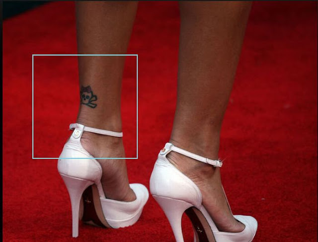Music Note on Her Ankle