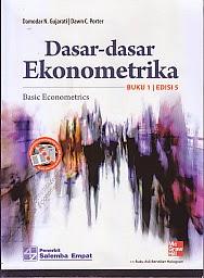 toko buku rahma: buku DASAR-DASAR EKONOMETRIKA BUKU 1, pengarang damodar n gujarati, penerbit salemba empat