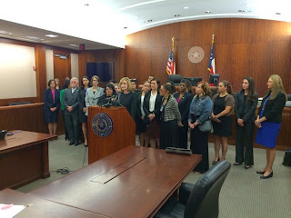 Press conference announcing Project SAFE.