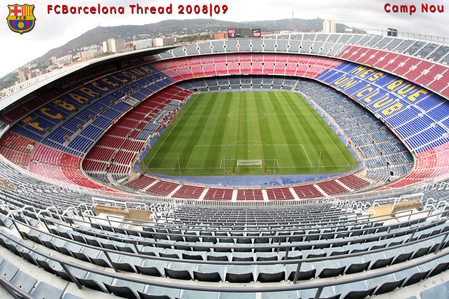 Wellcome to Home of Sports: 7. Camp Nou (98,772)