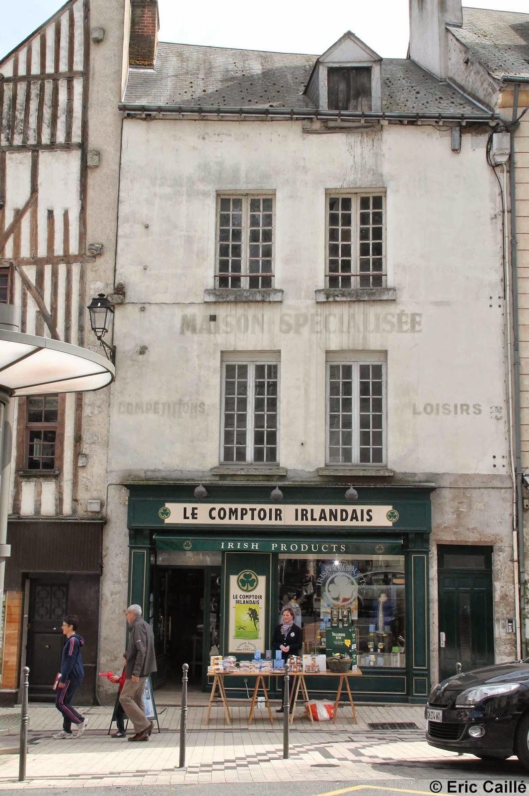 Les murs peints parlent le comptoir irlandais - Comptoir irlandais tours ...