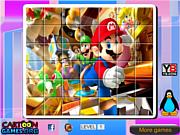 Game xếp hình Mario, chơi game xep hinh online