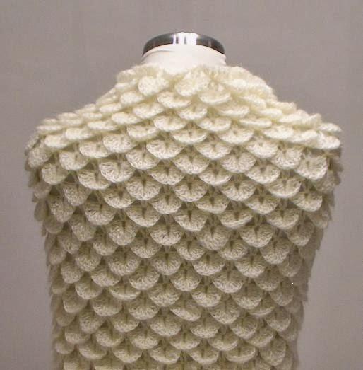 Crochodile  Dundee Şal Modeli