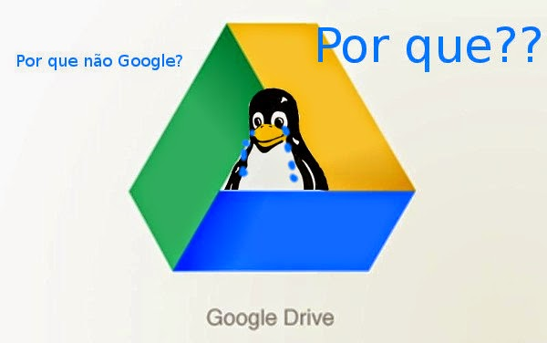Google Drive sem cliente oficial para Linux