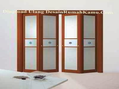 Harga Desain Pintu Kamar Mandi Lipat Folding Door Dari Plastik PVC