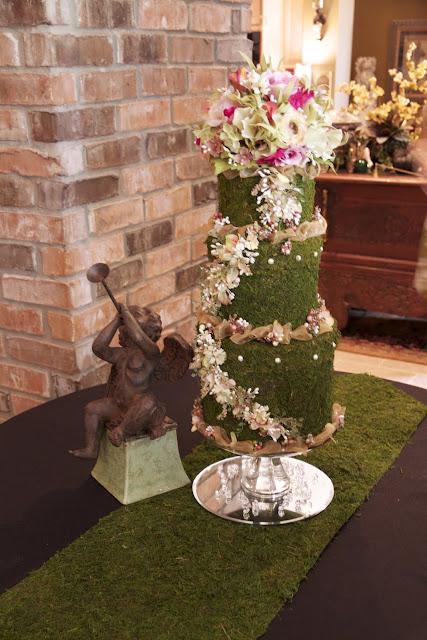 Janet S Designs Bridal Shower Garden Themed