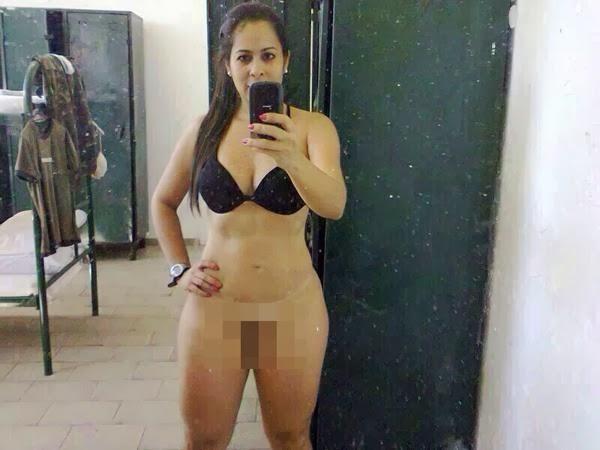 Sem Tarja: Tenente do Exército tem fotos nuas divulgadas na internet