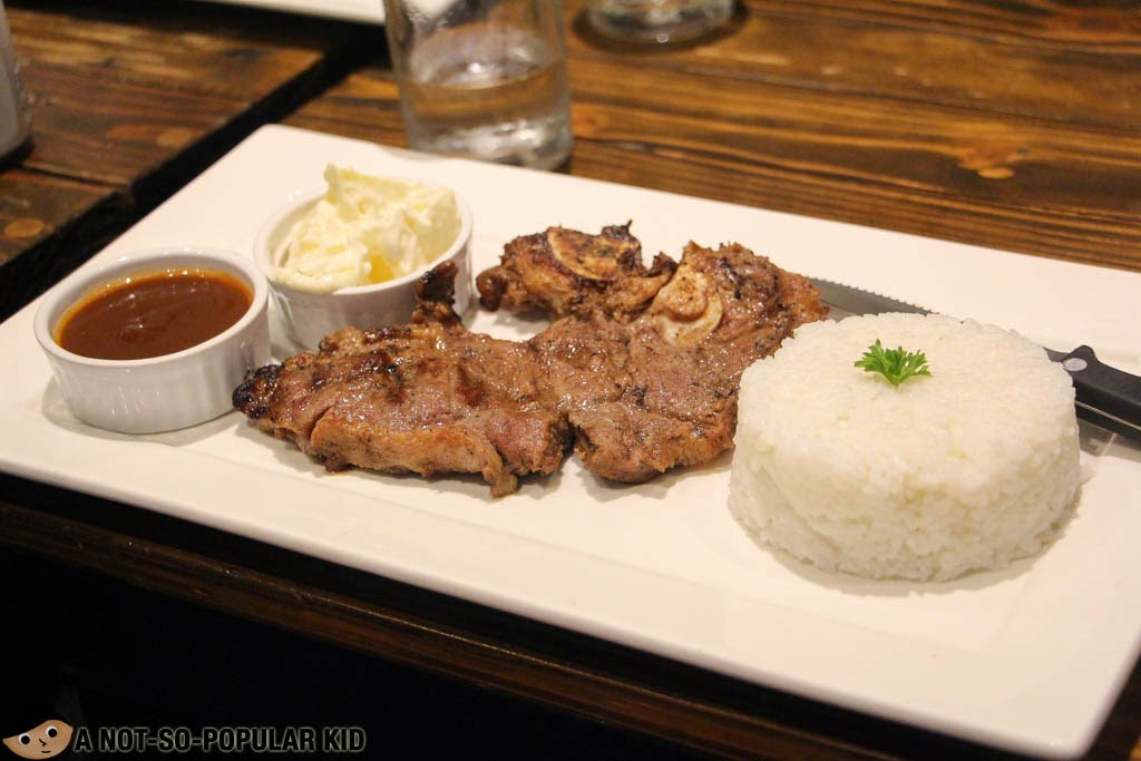 SALT's famous yet affordable T-Bone Steak