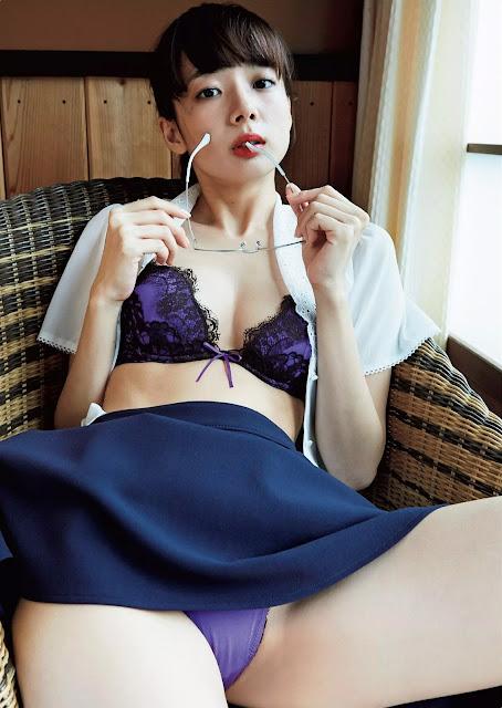 Okada Sayaka 岡田紗佳 Weekly Playboy Dec 2015 Pics 04