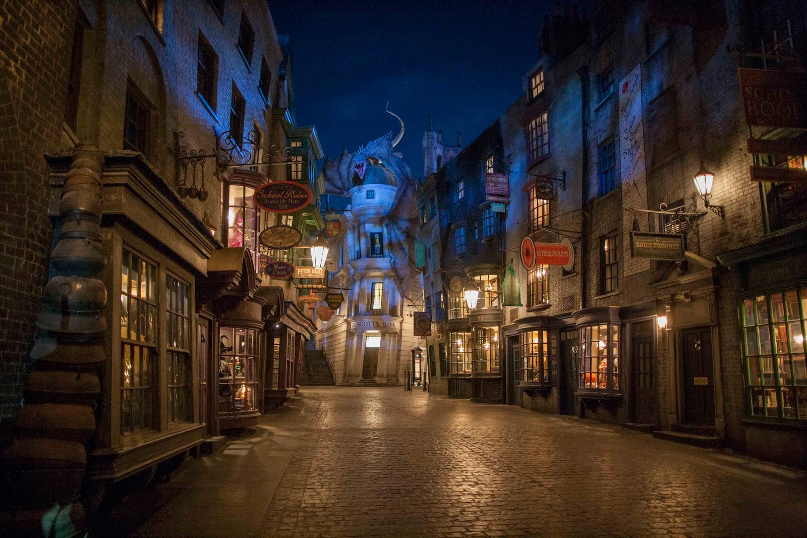NewsPlusNotes: The Wizarding World of Harry Potter: Diagon Alley ...
