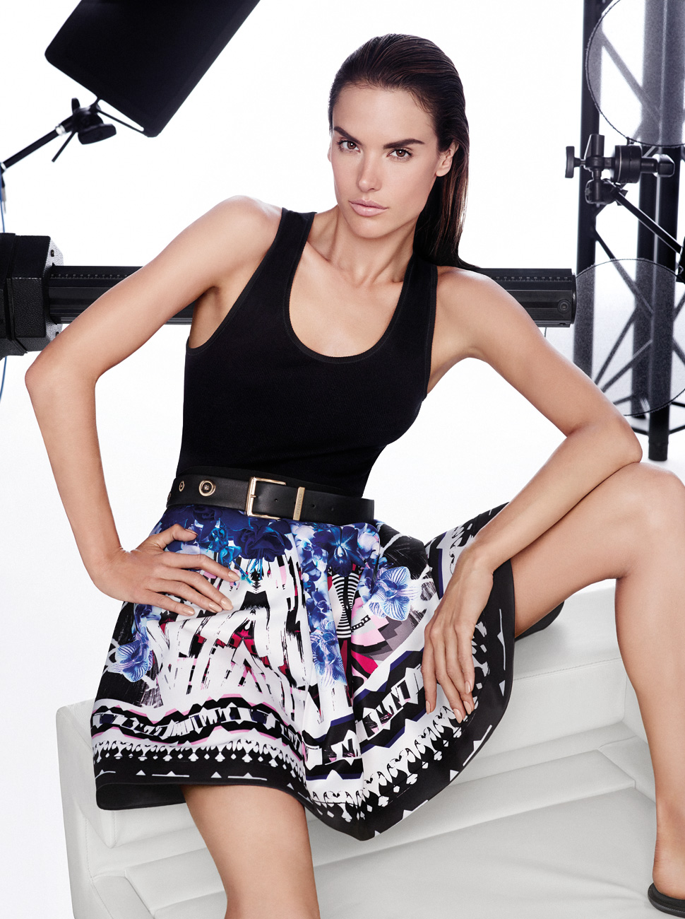 Smile: Ad Campaign: Pinko: Spring/Summer 2014: Alessandra ...