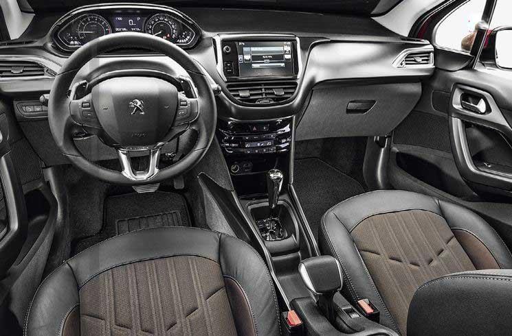 Novo Peugeot 2008 Automático - interior