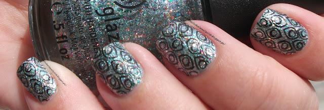 Peacock nails / Unhas pavão