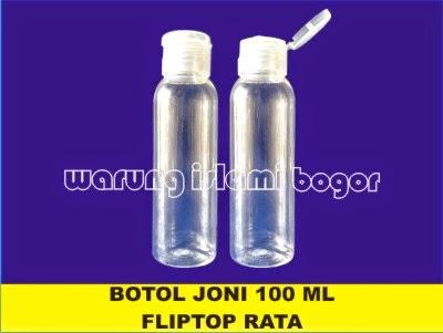 Jual Botol 100ml Tutup Fliptop