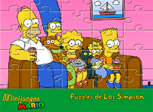Quebra-cabeças dos Simpsons