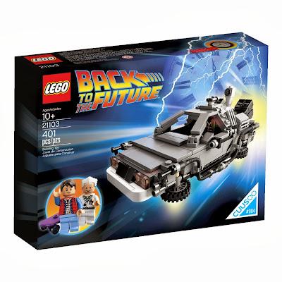 Lego 21103 The Delorean Time Machine Building Set Best