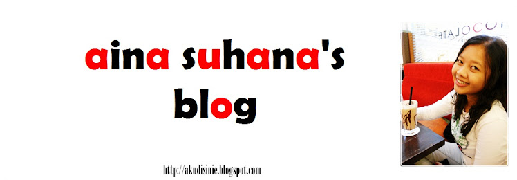 aina suhana's blog