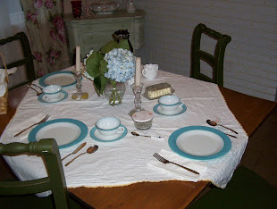 Here are some of my Table Settings