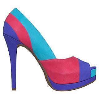 Via Marte - Coleção Verão 2013 sapato multicoloridos, preços