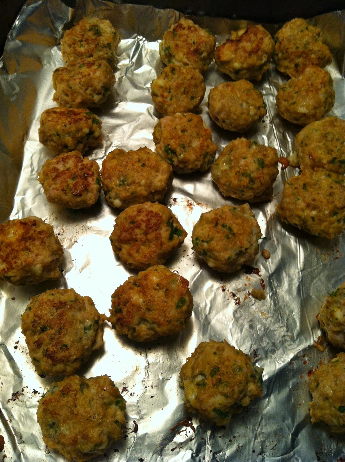 Bitchin' In The Kitchen: Buffalo Style Turkey Meatballs with Blue ...