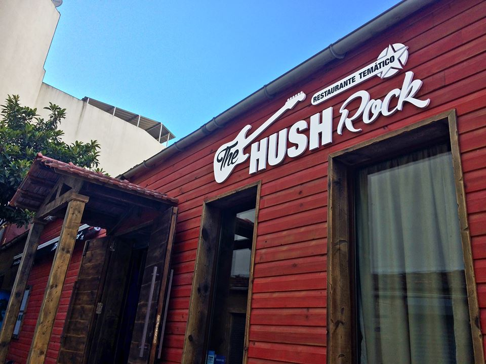 The Hush Rock • Restaurante Temático
