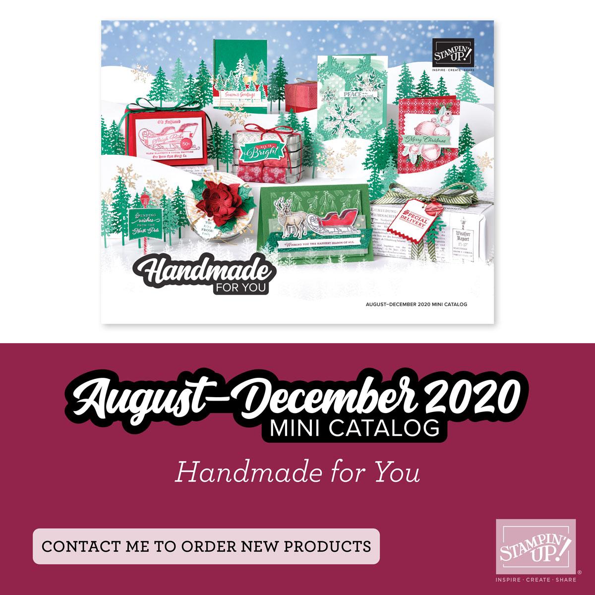 August - December Mini Catalog