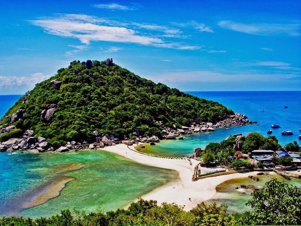 10 Pulau Pasang Surut di Dunia