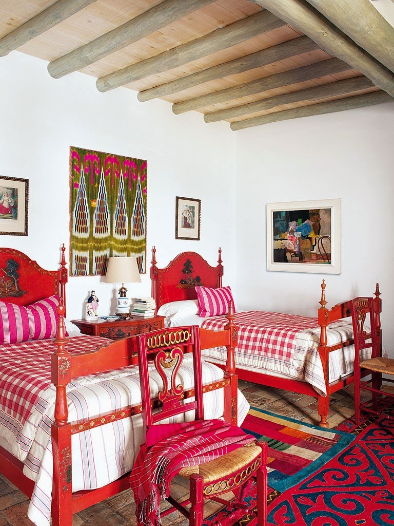 Lulu klein interior design moorish house in seville - Decoracion casa campo ...