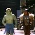 Hulk e Thor dos Vingadores dos anos 80