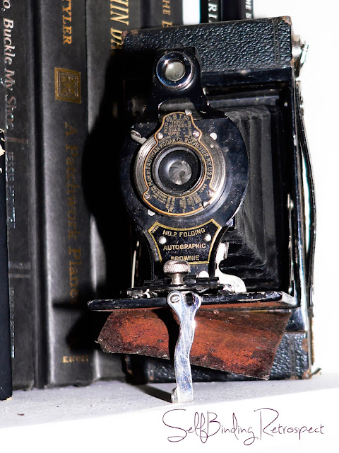 kodak, camera, vintage, old, no.2 folding, autographic