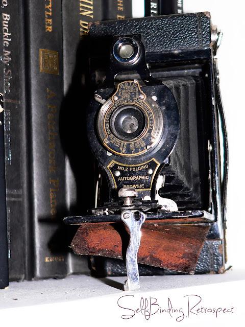 kodak, camera, vintage, old, no.2 folding, autographic