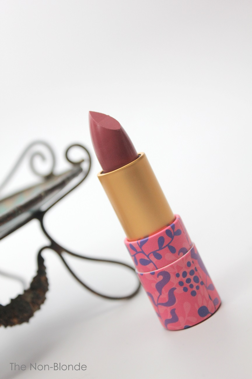 Tarte Amazonian Butter Lipstick Plummy Rose The Non Blonde