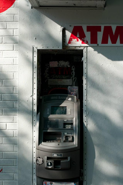 Atm, automatic teller machine, cash, tim macauley, timothy macauley, art, series, fine art, USA, New York, NY, city, you won't see this at moma, photography, photograph, cash out,