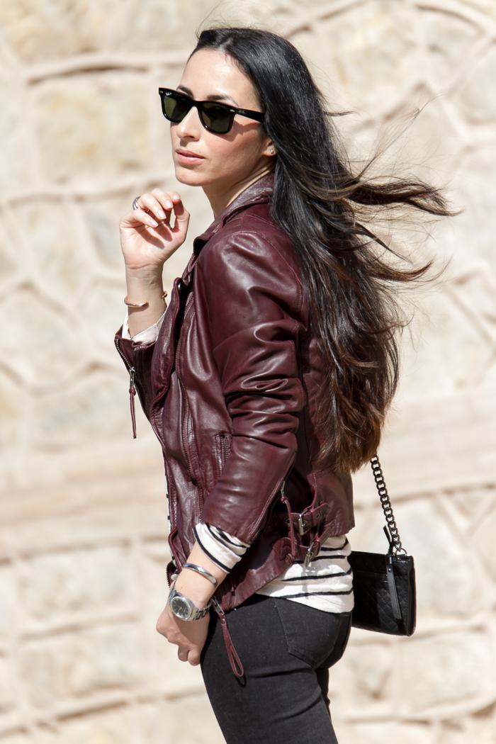 blogger de moda de Valencia con pelo largo