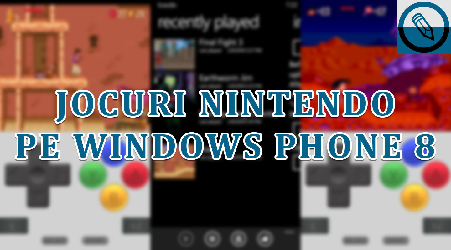 nintendo games on windows phone 8