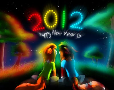 Celebremos juntos el Año Nuevo 2012 - Happy New Year