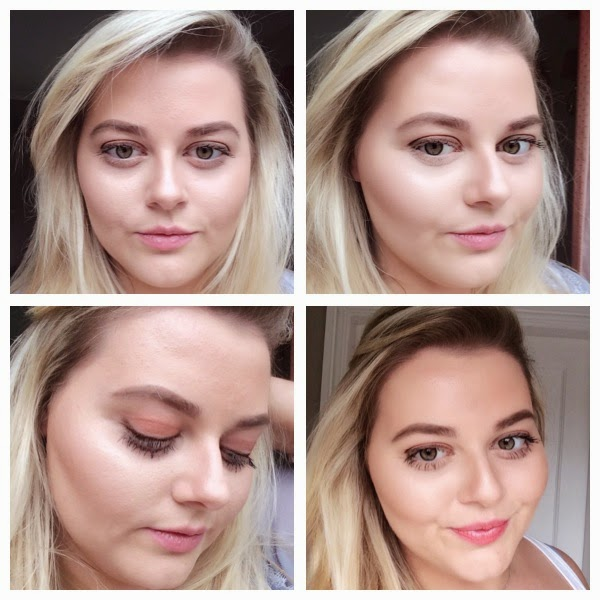 Birthday Makeup Look - Subtle Contouring