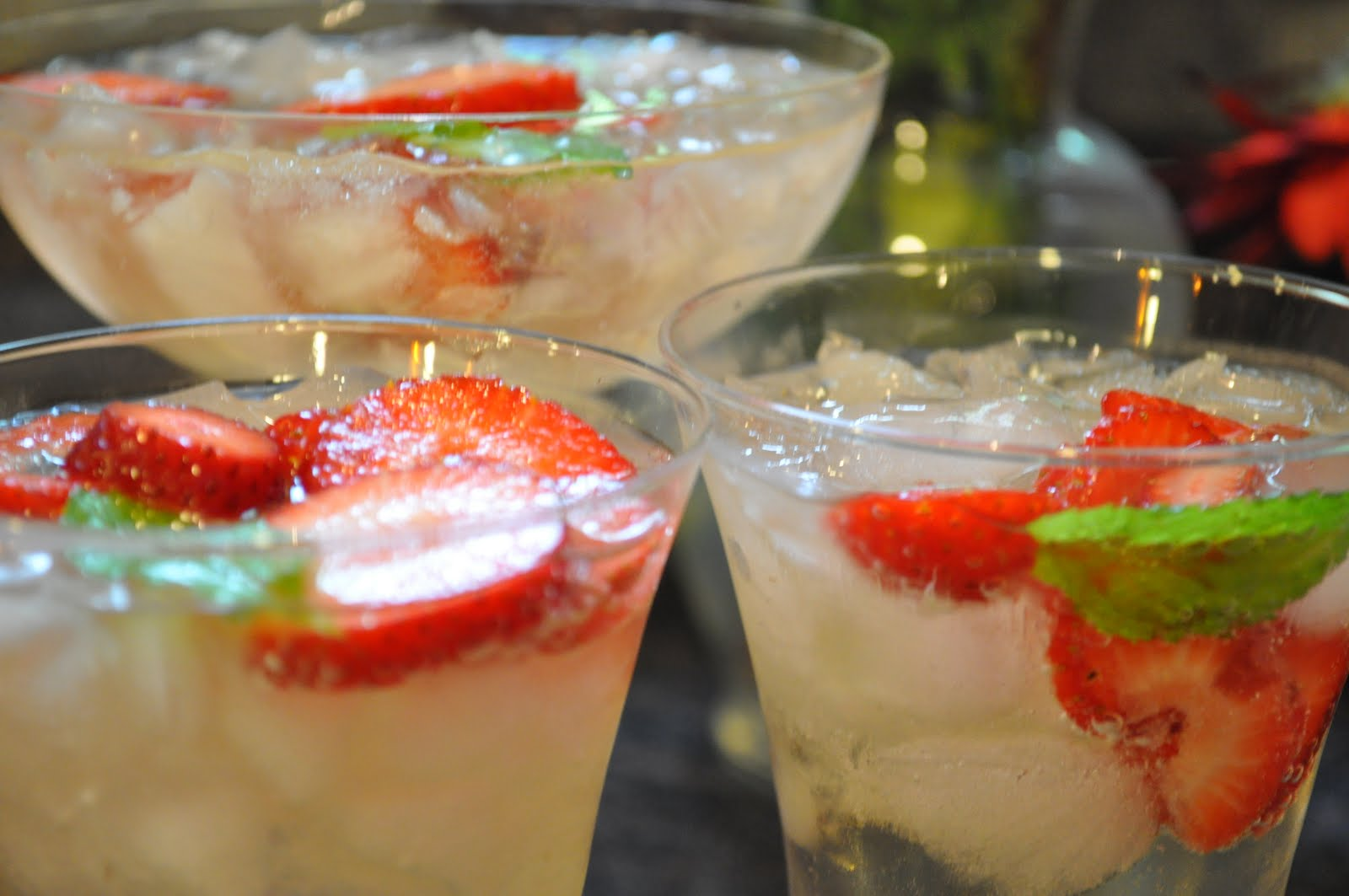 Cava Sangria - perfect for celebrating Spring, Mothers Day or any day ...