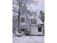 Plommonhuset i vinterskrud